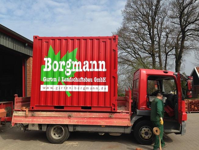 Garten und landschaftsbau maschinen  Garten- und Landschaftsbau Borgmann GmbH