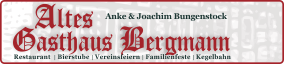 Gasthaus Bergmann